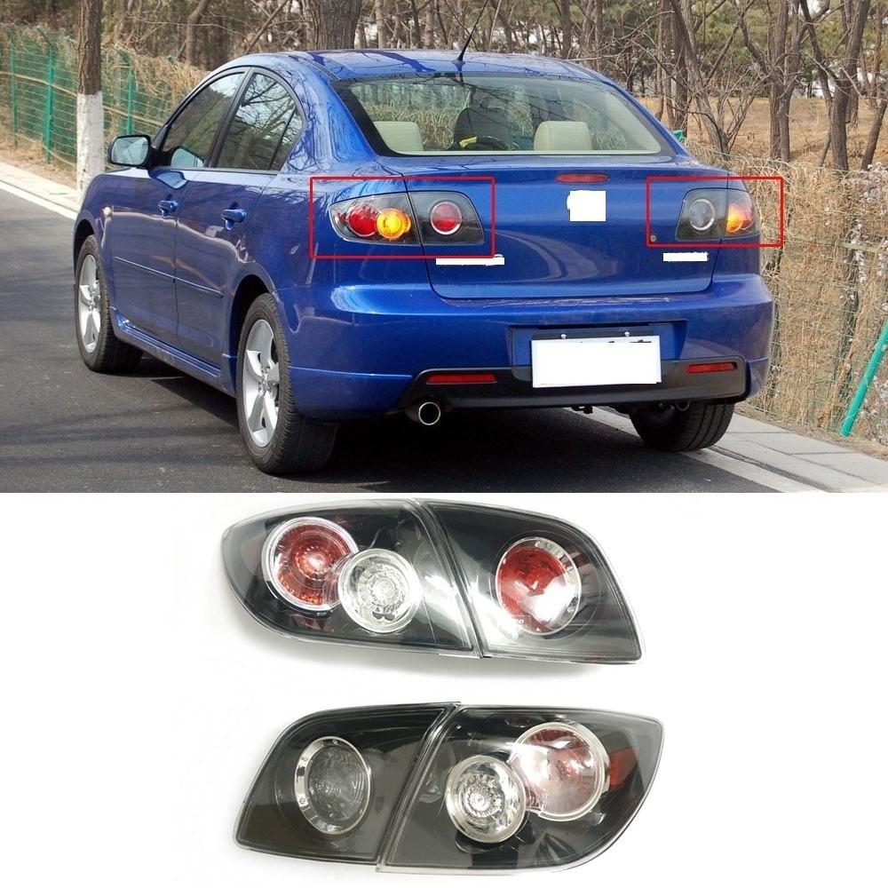 CAPQX For Mazda 3 M3 1.6 Hatchback /  2.0 Sedan 2008 2009 Rear Tail Light Taillamp Brake Warning Light Rear Headlight Headlamp