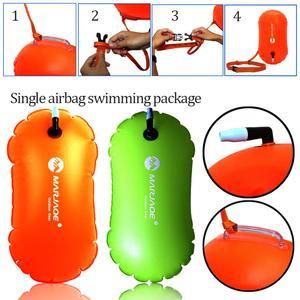 Boya de boya salvavidas gruesa para natación, bolsa de aire individual, evita el ahogo, pelota flotante hinchable