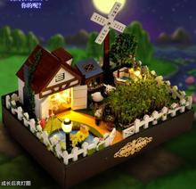 Check Discount Modern farm hand assembled house / model house / Creative novelty puzzle toy