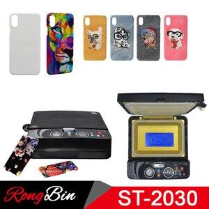 Image 1 - ST2030 Kleine Licht 3d Sublimation Vakuum Hitze Presse Maschine 3D Telefon Fall Drucker Wärme Transfer für Alle Handy Fall