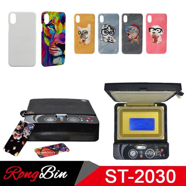 ST2030 Kleine Licht 3d Sublimation Vakuum Hitze Presse Maschine 3D Telefon Fall Drucker Wärme Transfer für Alle Handy Fall