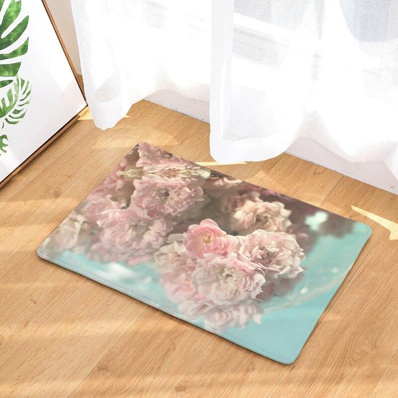Image 2 - CAMMITEVER Lavender Dandelion Rose Cactus Rose Area Rug Kitchen Mat Entry Way Bath Doormat Bedroom Carpet Machine Washable-in Rug from Home & Garden