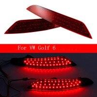 Ownsun New Multi LED Reflector Rear Tail Light Bumper Brake Light For VW Golf 6