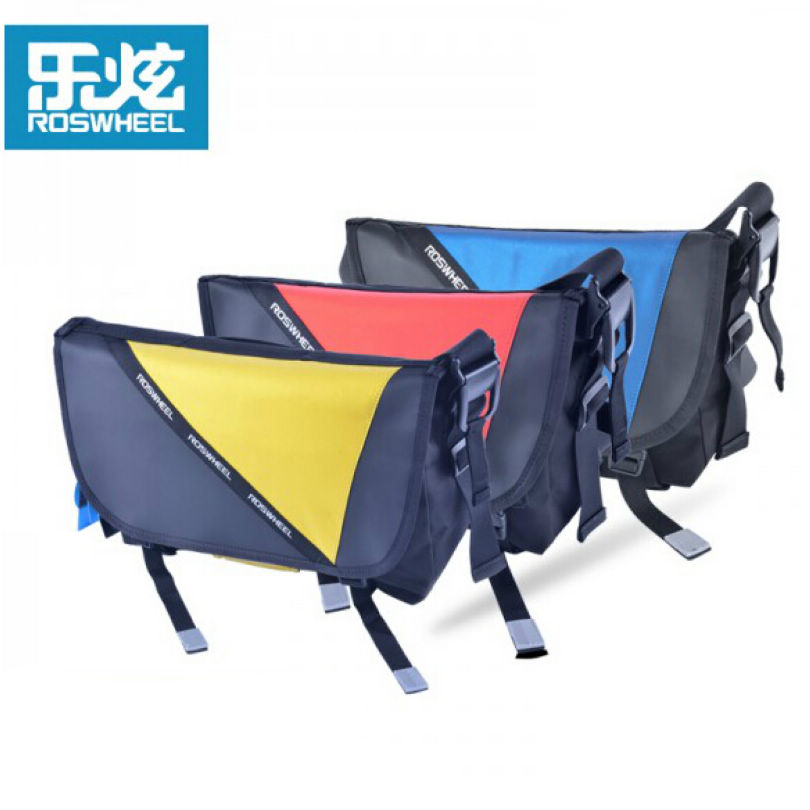 ROSWHEEL Cycling Bag Bicycle Bike Ciclismo Riding Travel Outdoor Pouch Waterproof Messenger Bag Shoulder Bag 3 Colors XS/S/M