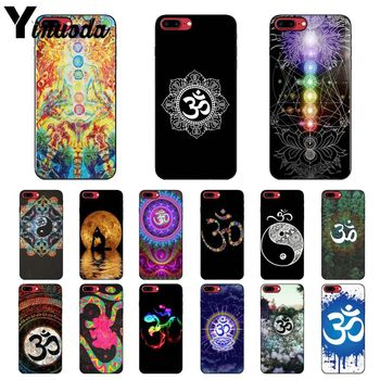 Yinuoda Aum Om Yoga TPU Soft Silicone Phone Case Cover for Apple iPhone 8 7 6 6S Plus X XS MAX 5 5S SE XR Cellphones image