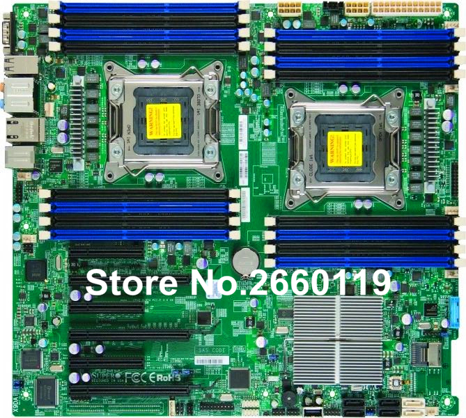 Server motherboard for SuperMicro X9DAi system mainboard fully tested and perfect quality