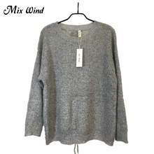 Mix Wind Straps Knitted Pullover Knitted Pullover Sweater Women Hollow Out Soft Femme Autumn Winter 2017 Warm Knitting Sweater