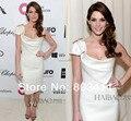 O 86o Academy Awards oscar Ashley - Greene Red Carpet vestido bainha tampadas vestidos de manga celebridades