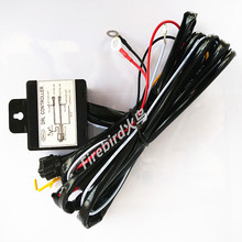 30W power led DRL/ Angel eyes controller wire, automatic ON and OFF, Hi/Lo headlights 100% OFF light function, free shipping