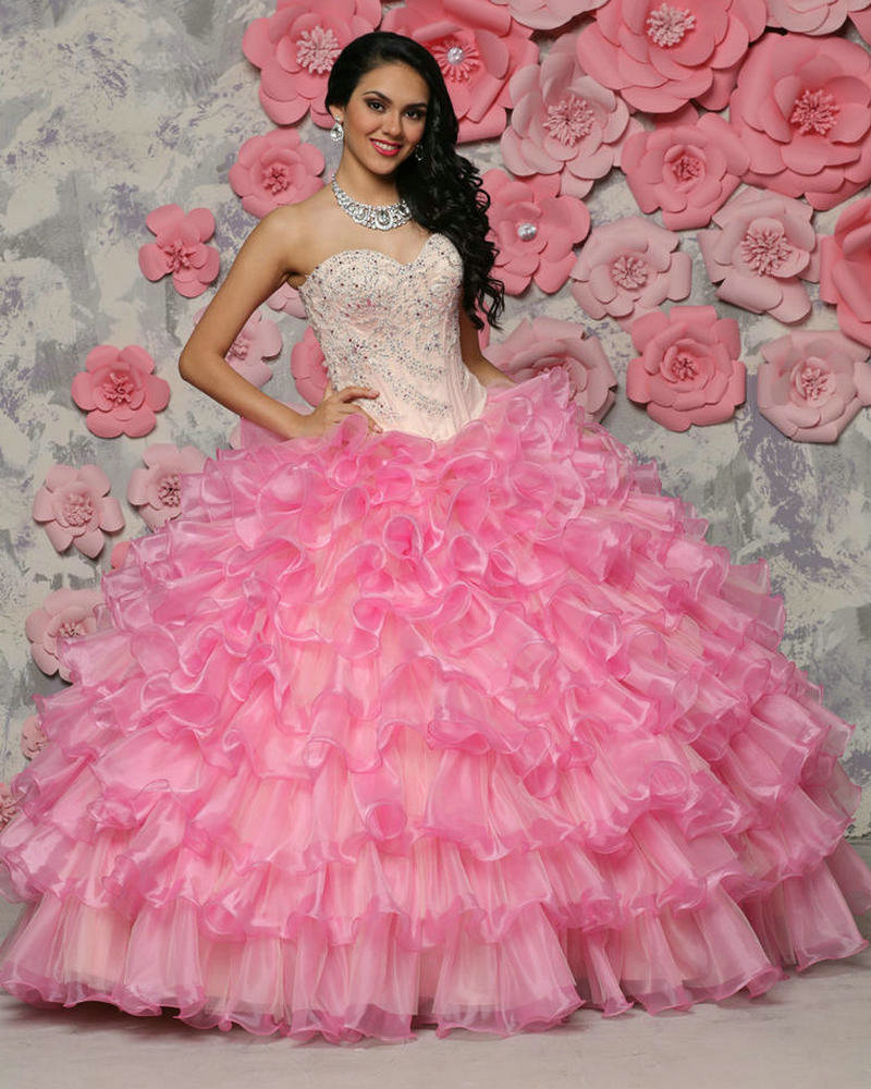 Popular Pink Ball Gown Dresses-Buy Cheap Pink Ball Gown Dresses ...