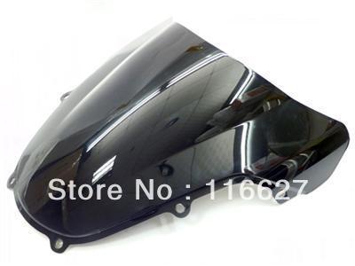 Freeshipping Smoke Dark Windscreen Windshield for 2000-2002 Suzuki GSXR GSX-R 600 750 1000 K1 freeshipping smoke double bubble windscreen windshield for 2004 2005 suzuki gsxr 600 750 k4