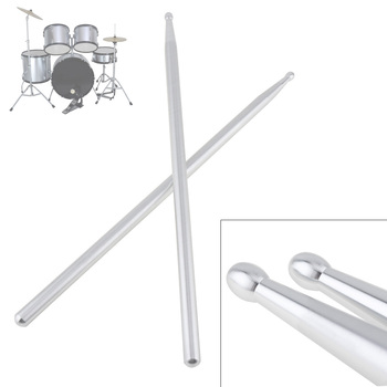 High Quality Professional 5A Aluminium Alloy Drum Sticks for Jazz Drum and Dumb Drum Pad Practicing Strength Endurance Exercises 1 pair 40cm wooden hot rods rute jazz drum sticks portable lightweight