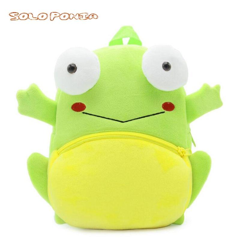 Nette Reisen Frosch Kleine Plüsch Anhänger Spielzeug Puppe Plüsch-schlüsselanhänger 12 Cm Wj04 Stofftiere & Plüsch