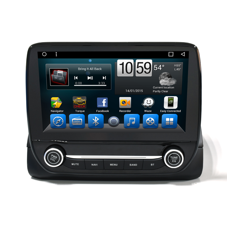 Navirider car dvd player for Ford Ecosport 2017 octa core android 8.1.0 car gps multimedia head unit stereo tape recorder
