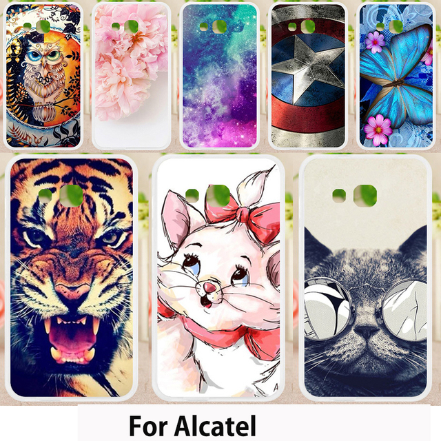 timeless design e7bee 9a1c6 US $0.83 15% OFF|Walcox Case For Alcatel U3 3G Case Cover U5 5044D 4G For  Alcatel Pixi 3 4 Plus Power Pop 2 4 4S plus First Alcatel Shine Lite-in ...