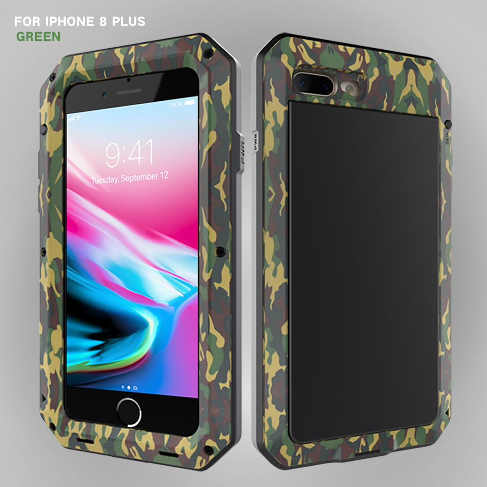 HTB1yLqLeQSWBuNjSszdq6zeSpXaH Heavy Duty Protection Doom armor Metal Aluminum phone Case for iPhone 11 Pro Max XR XS MAX 6 6S 7 8 Plus X 5S 5 Shockproof Cover