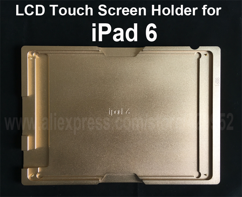 Aluminium Mould Mold for iPad 6 Pro 9.7 LCD Touch Screen Separator OCA Laminating Display Repair Refubish Machine Tool for iphone 4 4s lcd touch panel screen assembling mould refurbishment mold