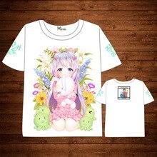 Anime Eromanga Sensei  Sagiri Izumi T-shirt Men Women Short Sleeve Summer dress cartoonMy Little Sister And The Locked t shirt