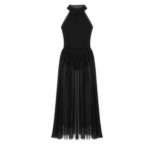 Image 2 - Балетное платье для девочек, красивые танцевальные платья, гимнастическое трико для девочек, трико с юбкой для лирического платья, празднование духа