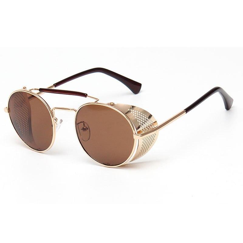MOTION FOCUS Gothic Steam Punk Glasses Vintage Women Men Steampunk Sunglasses Oculos de sol MF168