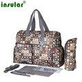 Детские пеленки сумки пеленки мешок мать сумка Мода Высокое качество материнства мумия сумка водонепроницаемый сумка для коляски