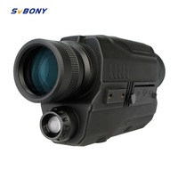 SVBONY 5x32 Monocular Night Vision Digital 0.3 Mega Pixels CMOS 1.5 LCD Display Infrared Device Hunting Binoculars Telescope