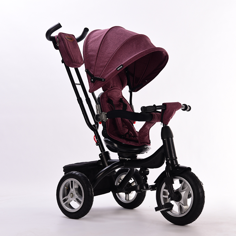 Abdo 2019 New Children's Tricycle Baby Walker With Wheels Ride On Car Portable Folding Baby Kids Car Children's Trolley