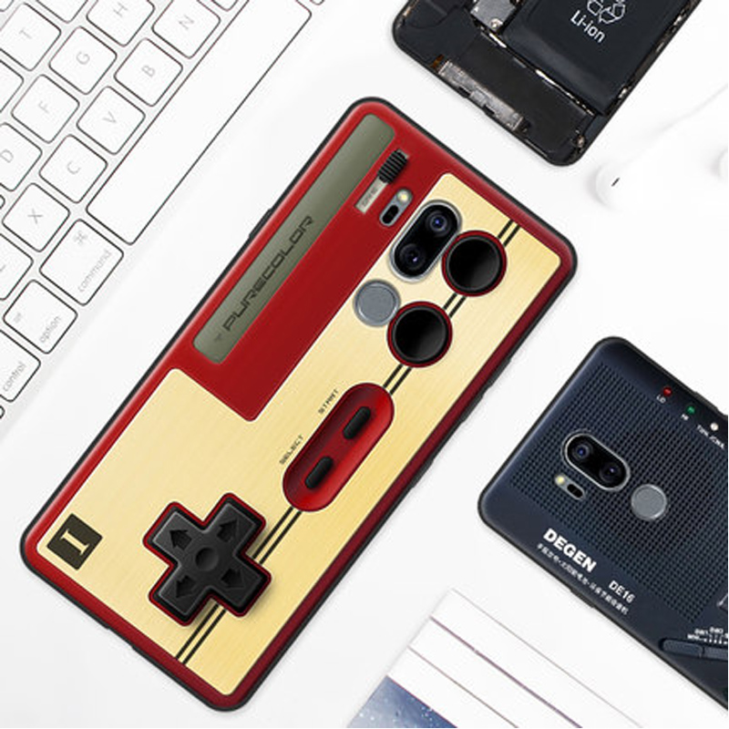 2PCS For LG G7 Thinq Case Cute Cartoon Soft Back Cover For LG G7+ Thinq Phone Cases For LG G 7 Shell
