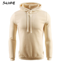 SUKIWML 2017 New Brand 7 Solid Color Hooded Men's Sweater Winter Warm Knitted Pullover Men Plaid Pull Homme Plus EU Size S-3XL