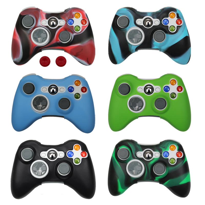 Silicone Case Cover For Xbox 360 Gamepad Soft Rubber Silicone Cover For Xbox360 Controller Accessories Gel Protective Case skinSilicone Case Cover For Xbox 360 Gamepad Soft Rubber Silicone Cover For Xbox360 Controller Accessories Gel Protective Case skin