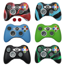 Silicone Case Cover For Xbox 360 Gamepad Soft Rubber Silicone Cover For Xbox360 Controller