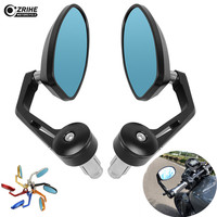 Universal Motorcycle Mirror View Side Rear Mirror 22mm Handlebar Grips For BMW R1200GS ADVENTURE K1600 GT