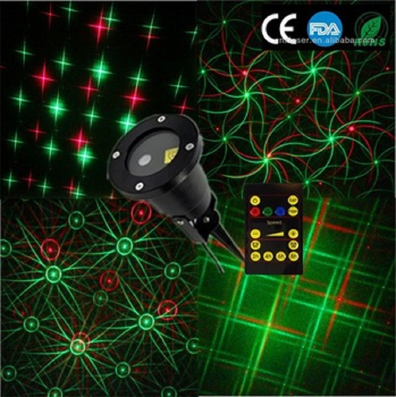 Wholesale newest outdoor christmas projector multipattern for Cheap outdoor christmas lights