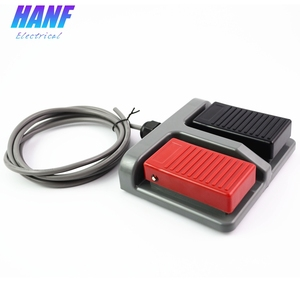 Image 2 - 1pcs momentary plastic foot switch infinity double pedal    duplex two way tumbler  3A/220VAC