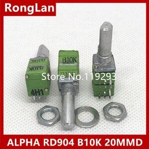[BELLA]ALPHA RD904 B10K potenciômetro quadruple-metade do comprimento axial 20MM -- 10 pçs/lote