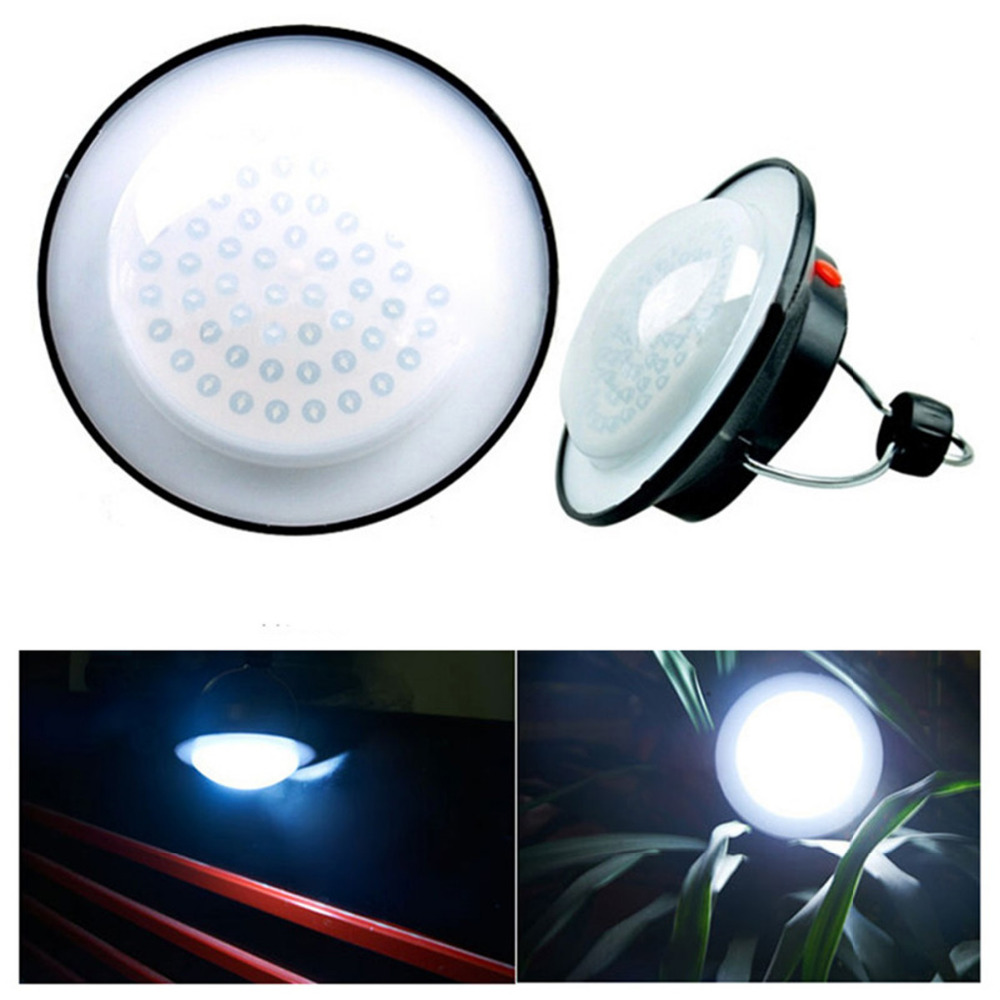 Outdoor Camping Light 60 LED Emergency Lamp Portable Tents Night Lamp Hanging Hiking Umbrella Night Lights For AAA/18650