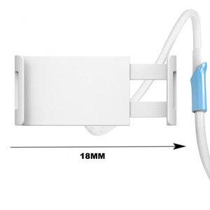 Image 4 - Длинная регулируемая подставка держатель YPAY 1,3 м для планшета и телефона 4 10,5 дюйма, кронштейн для крепления планшета для ленивой кровати для iPhone X 8 IPad pro 10,5