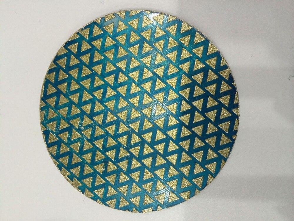 4inches/100mm Electroplated  Polishing Pad For Granite/diamond Burnishing Tool