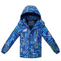 New Children Outerwear Autumn Winter Windproof Coats Waterproof Boys Jackets Outdoor Skiing Boy's Hooded Jacket for 3-10 years