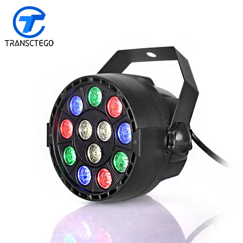 LED Stage Light Par Light Disco Laser Lights 12 Leds par lamps wedding stage lamp disco bar lamp transctego led stage lamp laser light dmx 24w 14 modes 8 colors disco lights dj bar lamp sound control music stage lamps