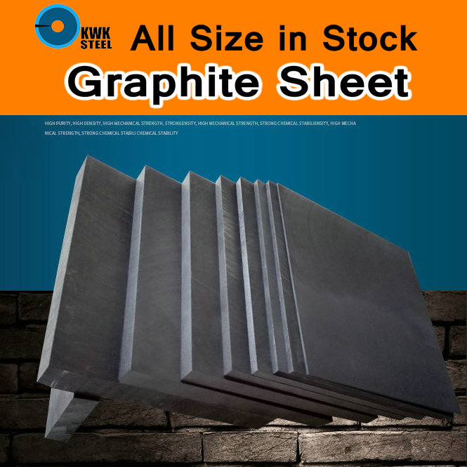 Graphite Plate Panel Sheet High Pure Carbon Graphite Electrode Graphite Carbon Sheet High Purity Mould DIY Use 3D Print ISO 100mmx250mmx0 3mm 100% rc carbon fiber plate panel sheet 3k plain weave glossy hot