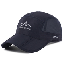 2019 Summer Sun Mesh Hat Dad Hat Foldable Baseball Cap Outdoor Sports Mountaineering Cap Quick-drying Men Cap Baseball Hats outfly folding sun hat cap cap outdoor foldable quick dry sun fishing fishing hat waterproof men sports duck cap