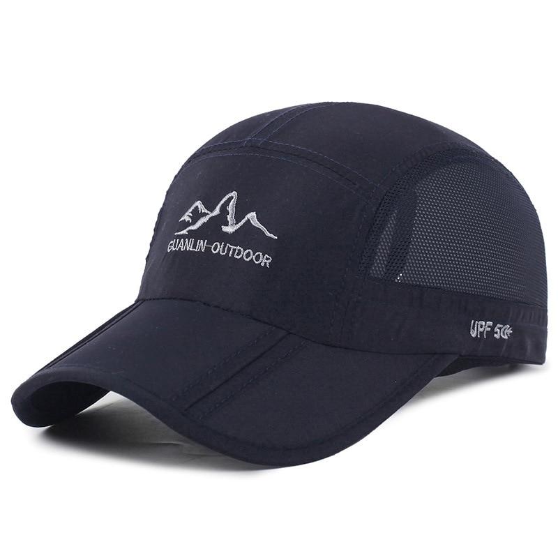 2019 Summer Sun Mesh Hat Dad Hat Foldable   Baseball     Cap   Outdoor Sports Mountaineering   Cap   Quick-drying Men   Cap     Baseball   Hats