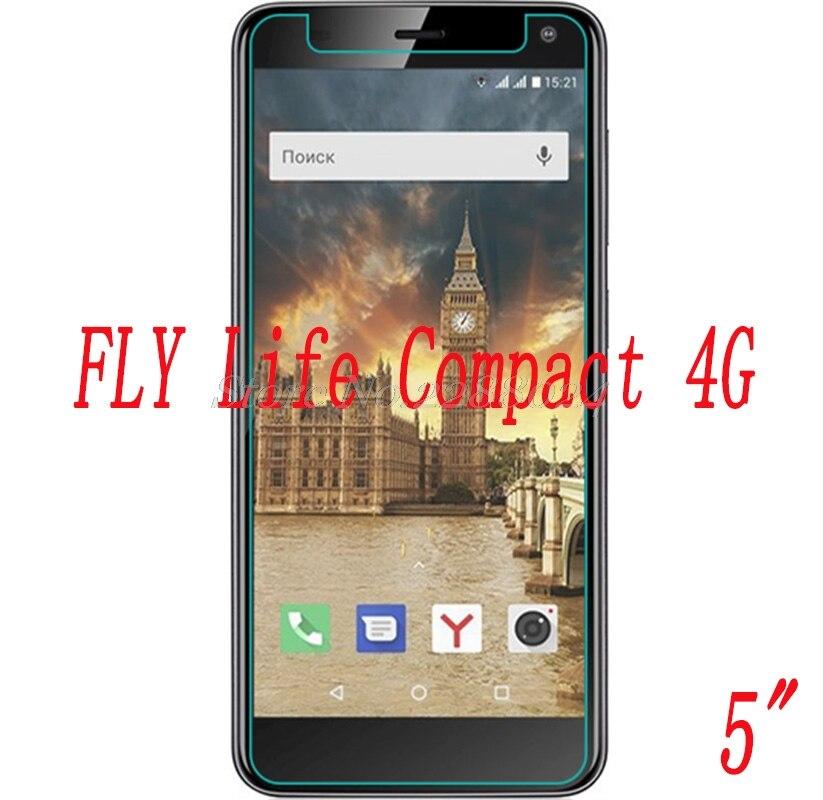 Купить Смартфон закаленное стекло 9h для Fly Life Compact 4G 5