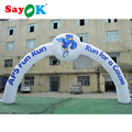 Inflatable race arch inflatable start finish line arch inflatable arch door with blower and double printing(9.8m/32ft Width)