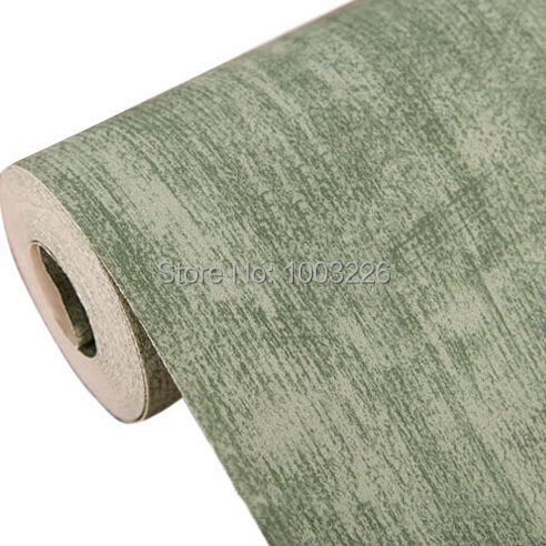 beibehang 3d wallpaper roll American vintage rustic Emerald solid green paper wallpaper for living room bedroom background wall beibehang warm 3d small leaf pink shallow green 3d wallpaper bedroom living room hotel corridor background 10 m wallpaper roll
