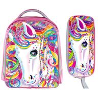 Colorful Cartoon Unicorn Book Backpack Girls Schoolbag Cat With Crown School Bags Kids Backpacks For Adolescent Girls Best Gift
