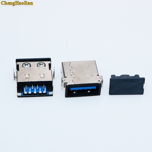 Image 2 - ChenghaoRan New 9P USB 3.0 / 2.0 4p Female Port Jack Replacement Connector for Lenovo Yoga 2 11 11S Pro 13 USB Jack Power socket