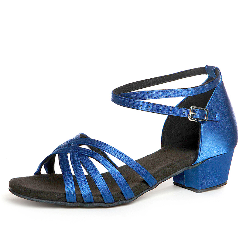 Sneakers-Sports-shoes-Dance-Shoes-Children-Latin-Gilr-Salsa-High-Discount-Cheap-Acrobatics-is-Dedicated-Heel-35mm-Black-Blue-3
