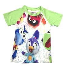 Реглан с короткими рукавами и рисунком для маленьких мальчиков; Детские рубашки